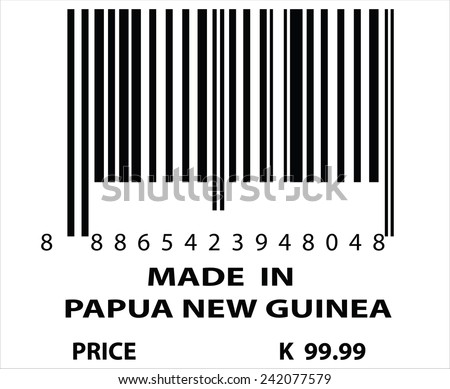 An Illustration of stamp marked Made in Papua New Guinea