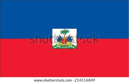 An Illustration of the flag of Haiti