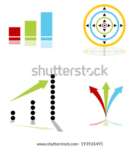 An image of a expansive icons. - stock vector