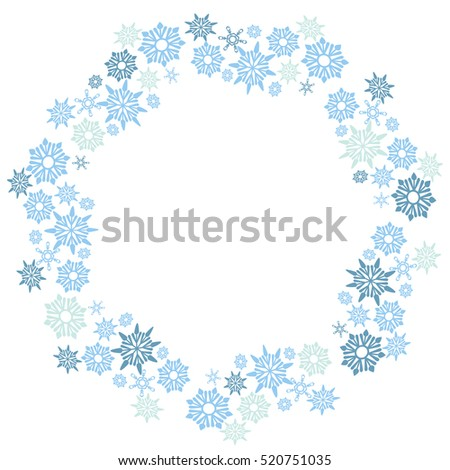 An image of a large snowflake circle pattern.