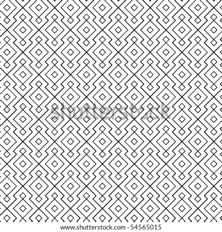 An intricate vector grill pattern. - stock vector
