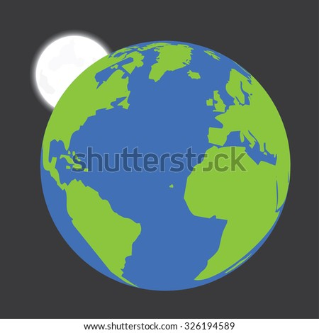 An Isolated Illustration of the Earth