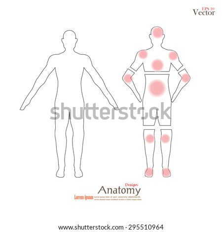 Anatomy human body showing pain trigger stock vector 295510964 anatomy human body showing pain trigger stock vector 295510964 shutterstock ccuart Choice Image
