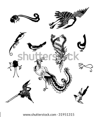 Ancient traditional elements--Birds