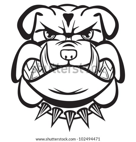 Angry Bulldog Stock Images, Royalty-Free Images & Vectors ...