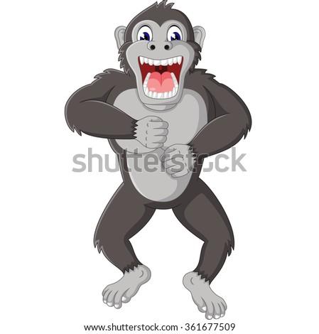 Crazy Cartoon Guy Straight Jacket Vector Stock Vector ...  |Angry Pitbull Drawings Straight Jacket