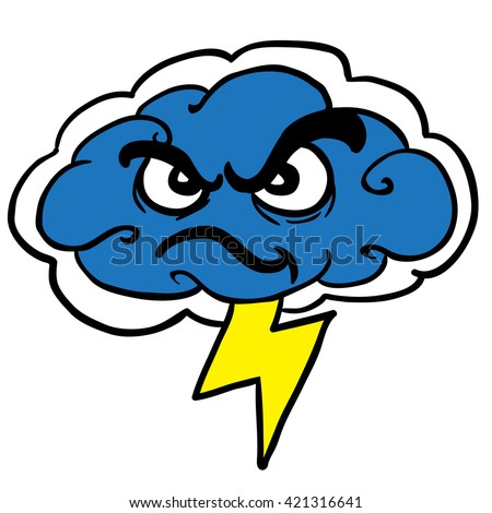 Angry Boy Running Stock Vector 542756215 - Shutterstock