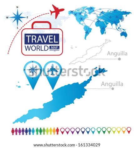 Anguilla Anguilla Stock Vectors Vector Clip Art Shutterstock