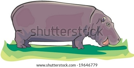 Animal Character on white background