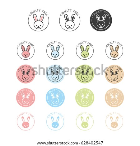 Animal Cruelty Free Symbol Can Be Stock Vector 628402547 Shutterstock