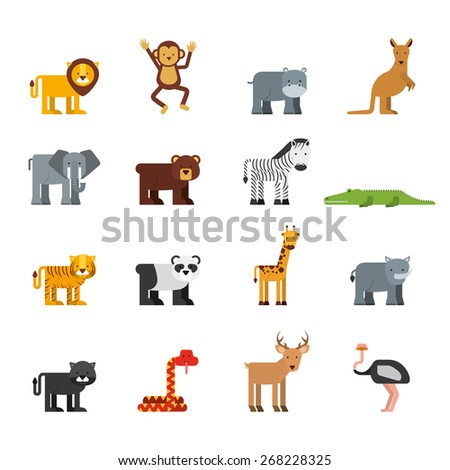 animal cute design, vector illustration eps10 graphic  - stock vector