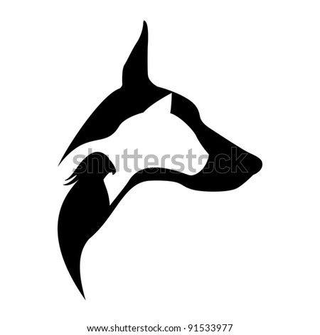 animal design - stock vector