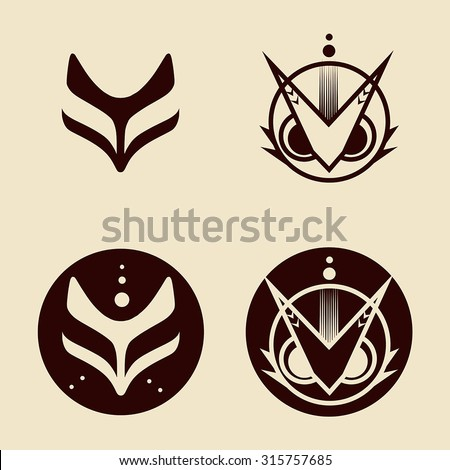 Animal icon sticker