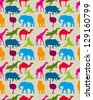 animal pattern - stock vector