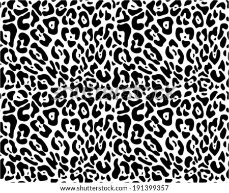 animal print seamless vector pattern stock vector 2018 191399357 rh shutterstock com Cheetah Vector Background Cheetah Print Drawing