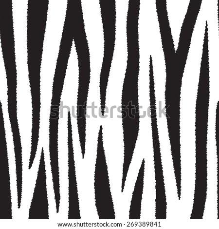 Animal skin. Seamless patterns. - stock vector