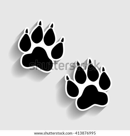 lion footprint stock images royaltyfree images amp vectors