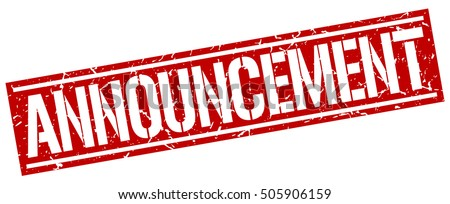 Announcement Stock Images, Royalty-Free Images & Vectors ...