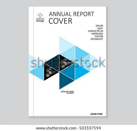 Annual business report cover template booklet stock vector royalty annual business report cover template booklet brochure cover poster presentation business accmission Image collections