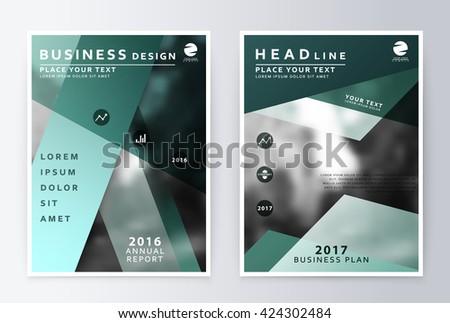 Annual report brochure business plan flyer stock vector 424302484 business plan flyer design template business paper modern business template flashek Image collections
