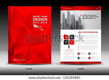 Black Red Banner Template Vector Horizontal Stock Vector
