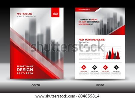 Annual report brochure flyer template red stock vector hd royalty annual report brochure flyer template red cover design business flyer template book saigontimesfo