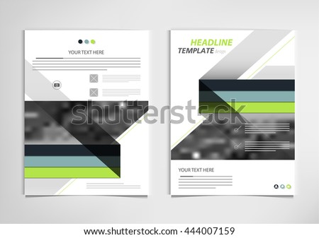 Book Report Cover Page Template. Exclusive Layout Cover Design