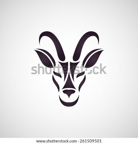 antelope logo vector stock vector 268350317 - shutterstock