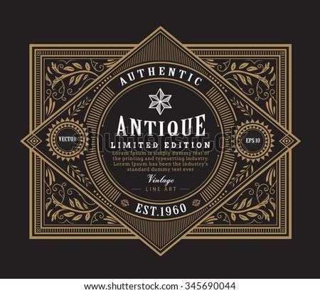 Vintage Clothing Brand Labels