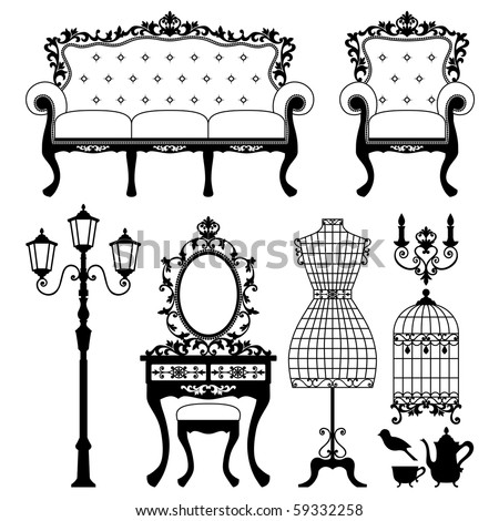 Antique Chair Stock Images Royalty Free Vectors