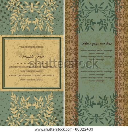 antique Vintage - stock vector