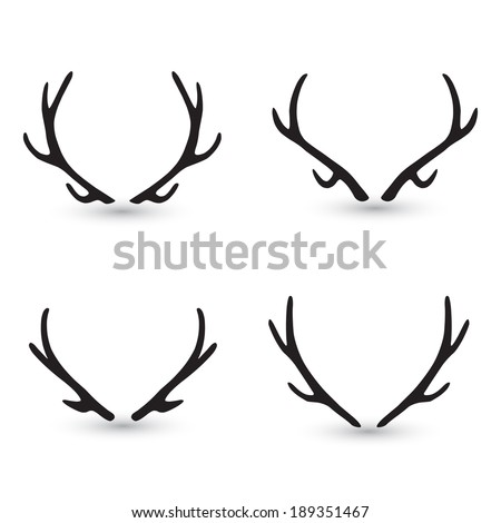 Stock Vector Newspaper Retro Clipart Illustration besides E9 B9 BF  E9 A0 AD 4131115 additionally Deer hoof clipart together with Deer And Doe as well 1860868. on deer head with antlers clip art