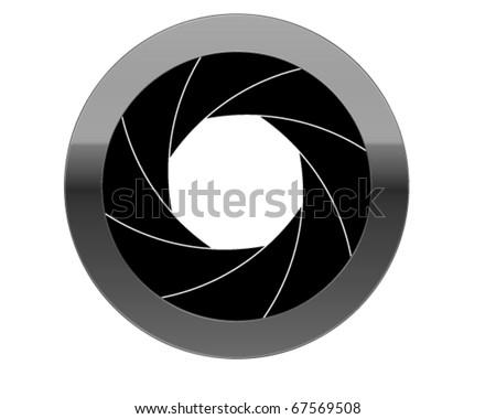 aperture - stock vector