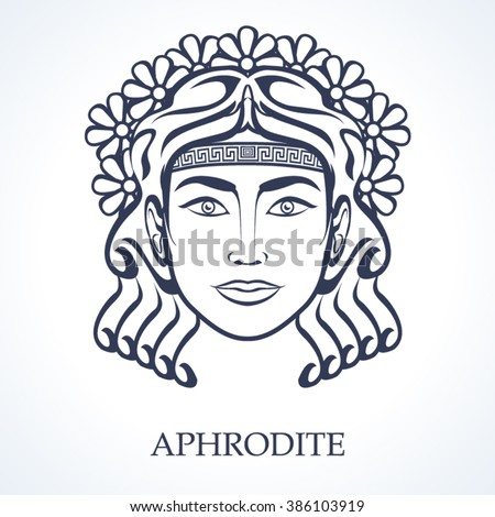 Buddha Head Paisley Ornament Mehendi Symbol Stock Vector ...