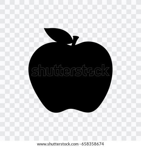 Apple icon transparent background