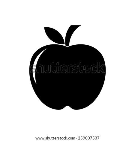 apple icon vector stock vector 259007537 shutterstock rh shutterstock com apple app icon vector apple pay icon vector