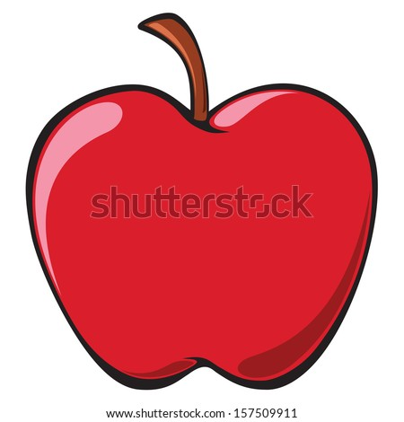 Apple Cartoon Stock Photos, Royalty-Free Images & Vectors ...