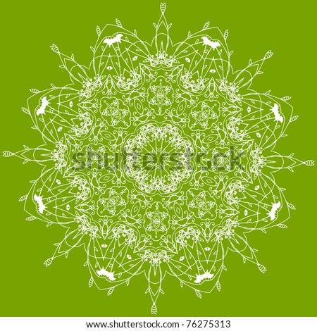 Arabesque ornament for your design - stock vector