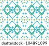 Arabesque Pattern Background - stock vector