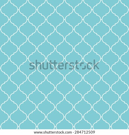 Arabic pattern background. Vintage vector pattern. - stock vector