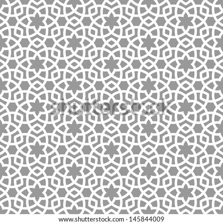 Arabic seamless ornament. Abstract background. - stock vector