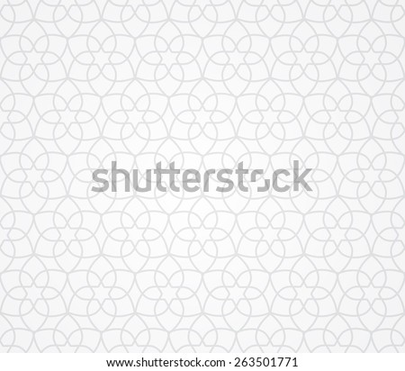 arabic traditional seamless pattern, endless texture can be used for wallpaper, pattern fills, web page,background, surface - stock vector