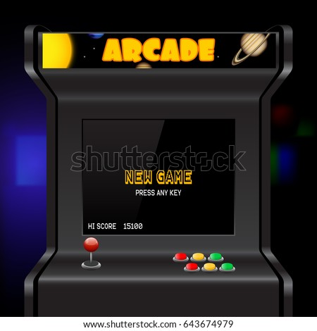 Arcade Machine Stock Images, Royalty-Free Images & Vectors ...