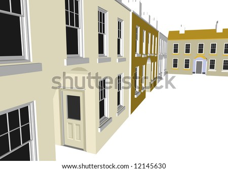 Architectu0027s Home / Office In Vector Format. Every Feature Of Each Building  Including Doors And