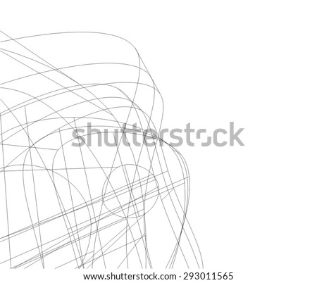 architectural background - stock vector