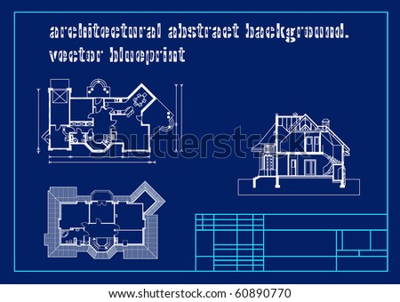 architectural background. vector