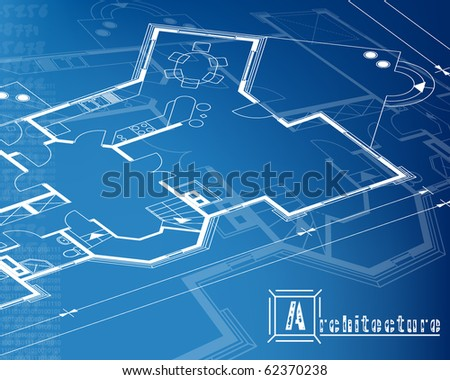 architectural background. vector. EPS10 - stock vector