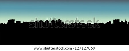 architectural building - stock vector