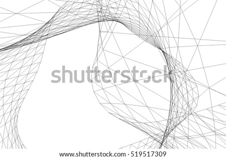Architectural Drawing Background architectural drawing futuristic background stock vector 582230671