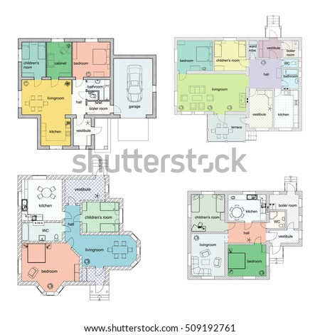 Room Layout Stock Images Royalty Free Images Vectors